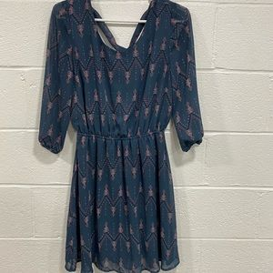 Maurices long sleeve dress size medium